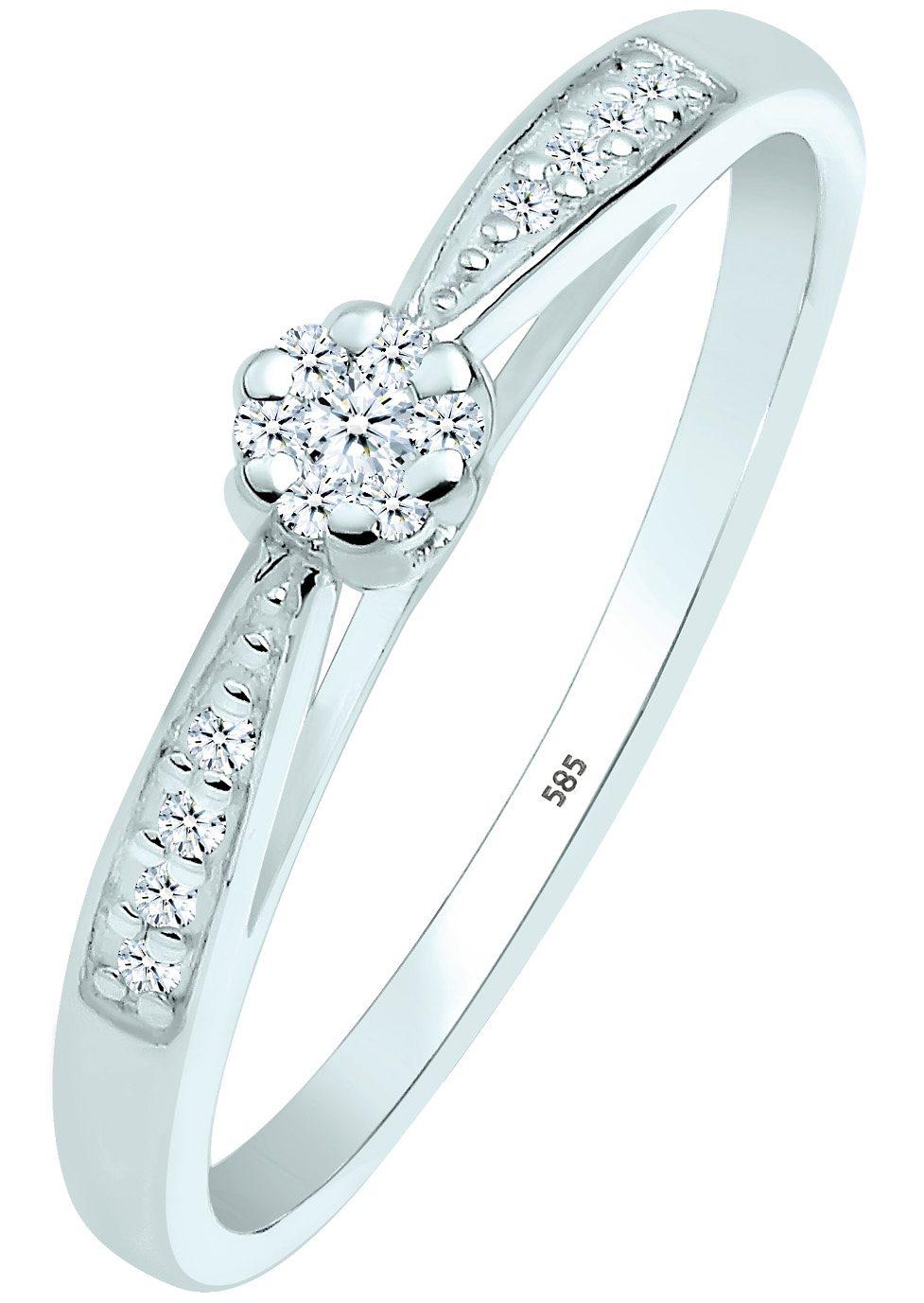 Elli DIAMONDS Verlobungsring 0604960414, mit funkelnden Brillanten günstig online kaufen