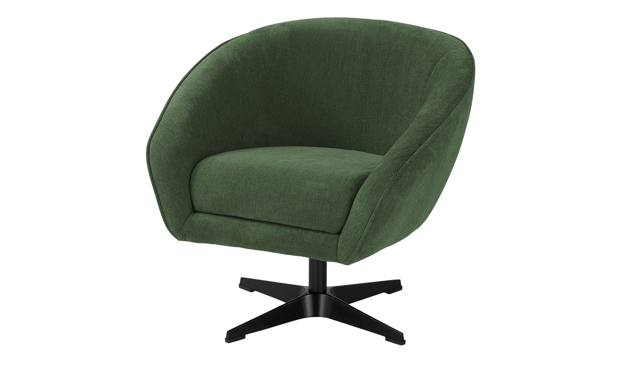 switch Drehsessel  Roma - grün - Polstermöbel > Sessel > Drehsessel - Möbel günstig online kaufen