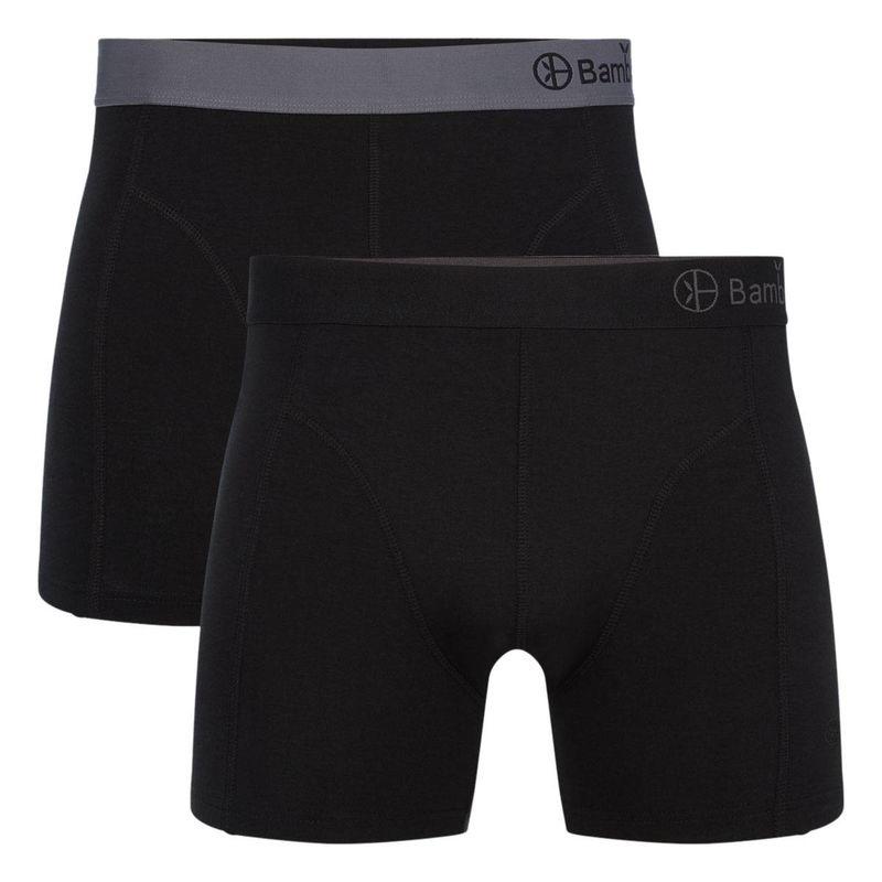 Bamboo basics Herren Boxer Shorts LEVI, 2er Pack - atmungsaktiv, Single Jer günstig online kaufen