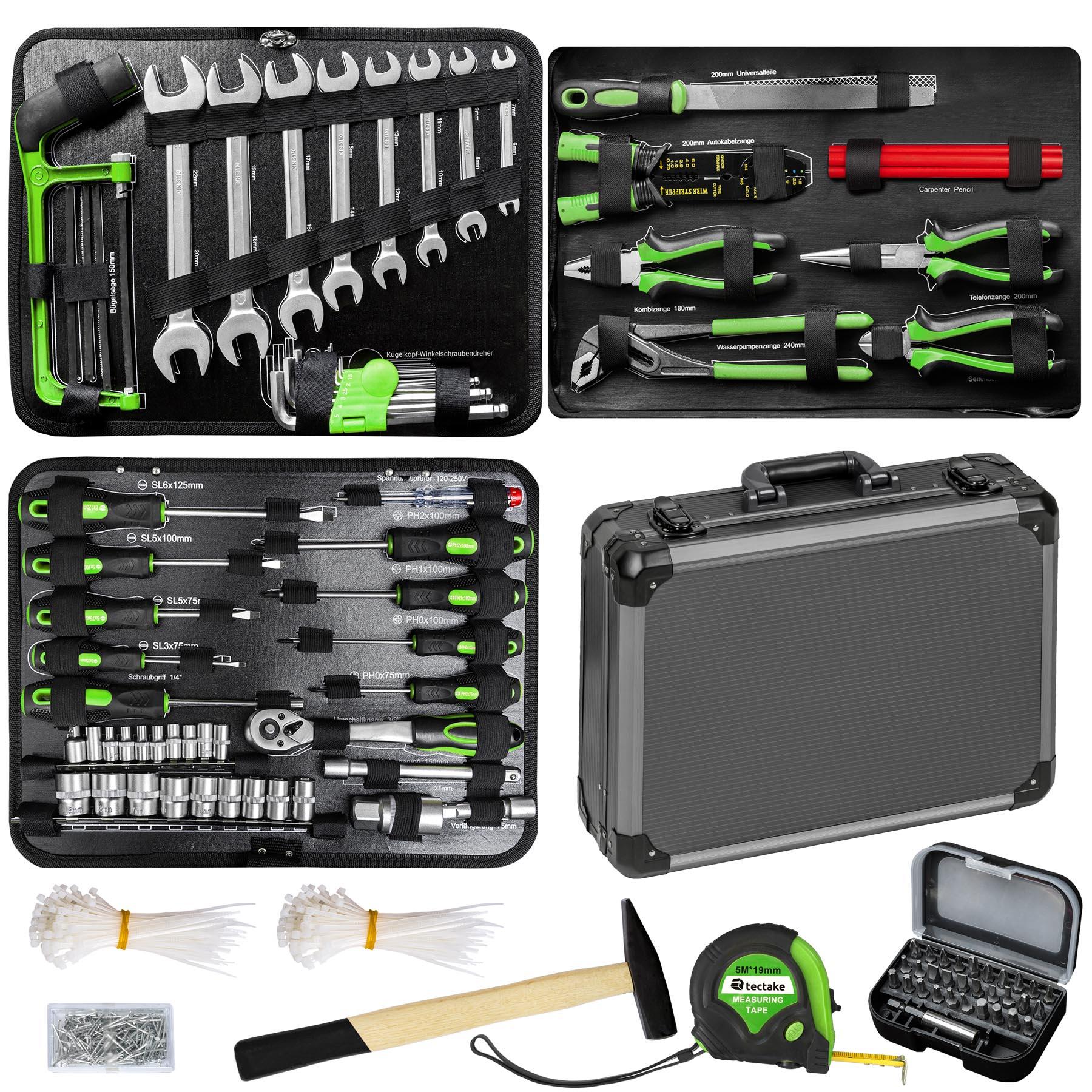 Werkzeugkasten 500-tlg. günstig online kaufen