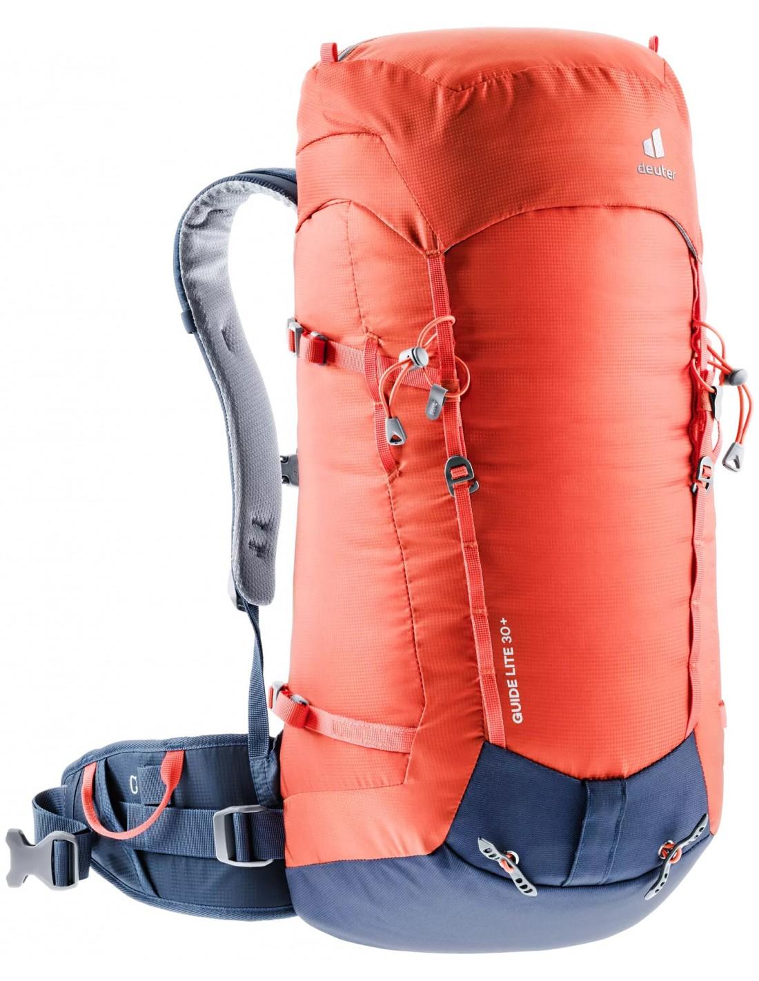 Deuter Rucksack Guide Lite 30+, papaya-navy Rucksackart - Wandern & Trekkin günstig online kaufen