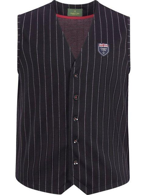Charles Colby Sweatweste »DUKE MERVIN« knitterarmes Material günstig online kaufen