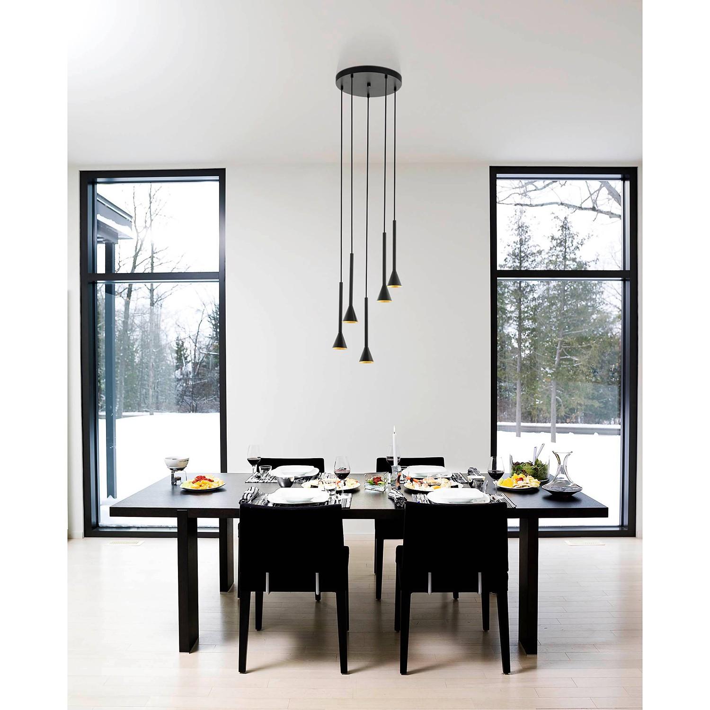 home24 LED-Pendelleuchte Cortaderas III günstig online kaufen