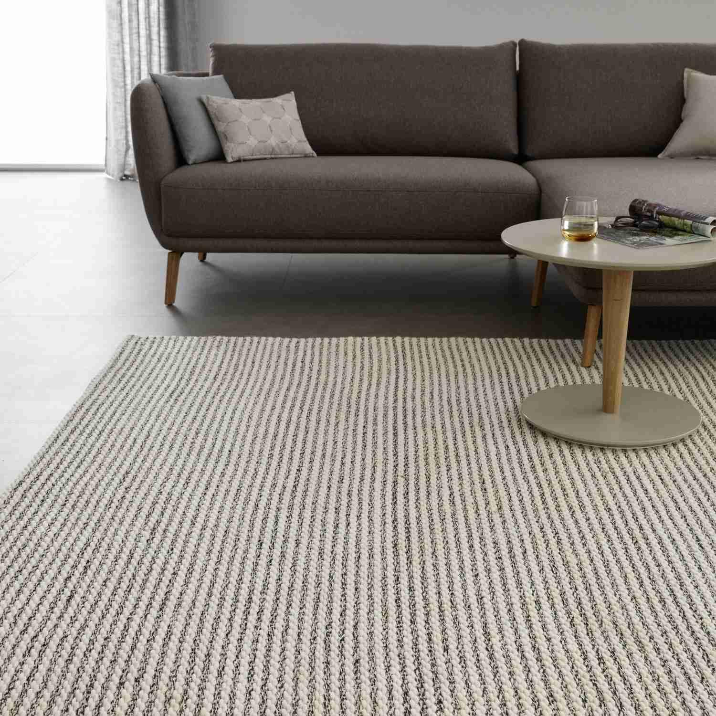 Teppich Vienta • Webteppich • 3 Groessen - Natur / 200 x 300 cm günstig online kaufen
