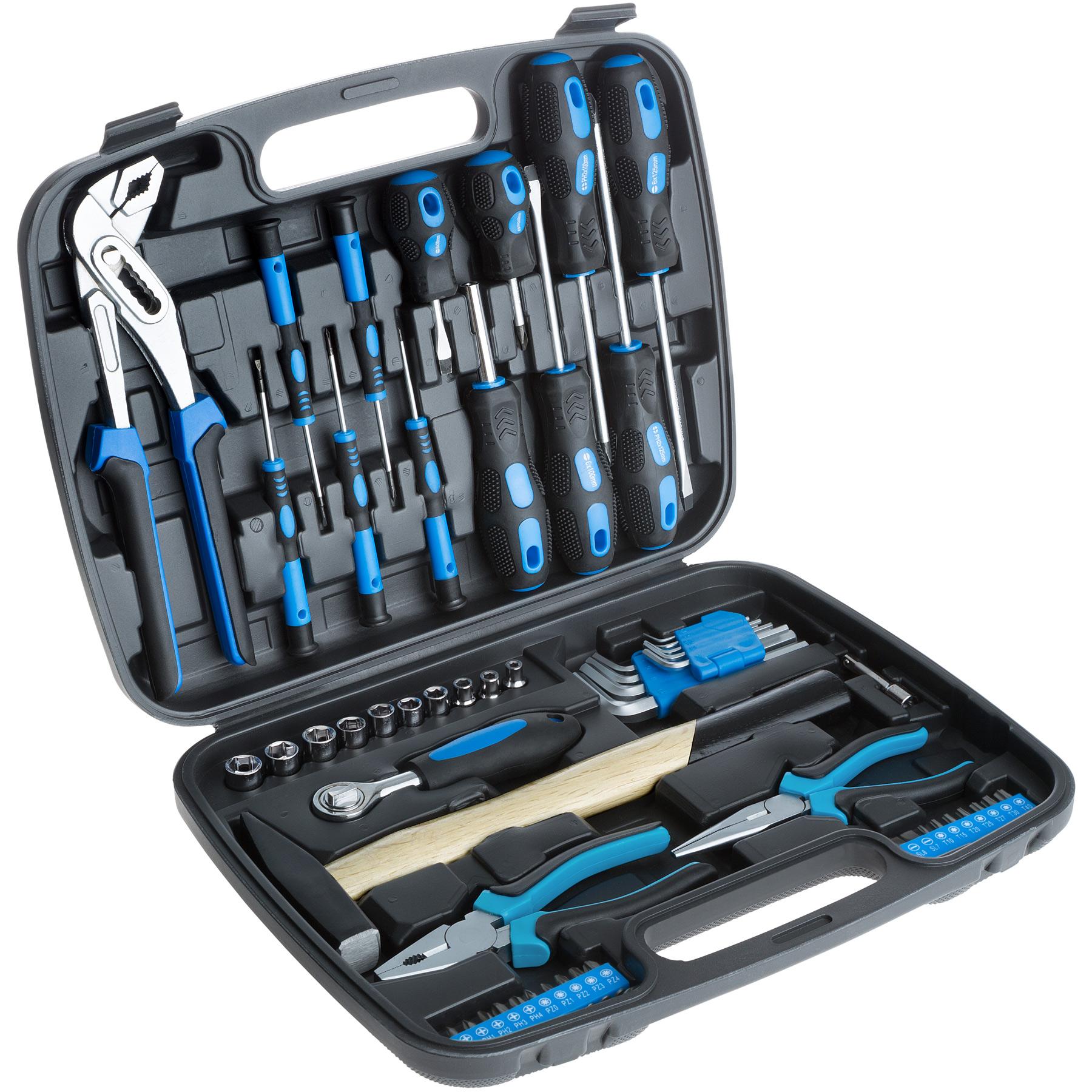Werkzeugkasten 57-tlg. günstig online kaufen