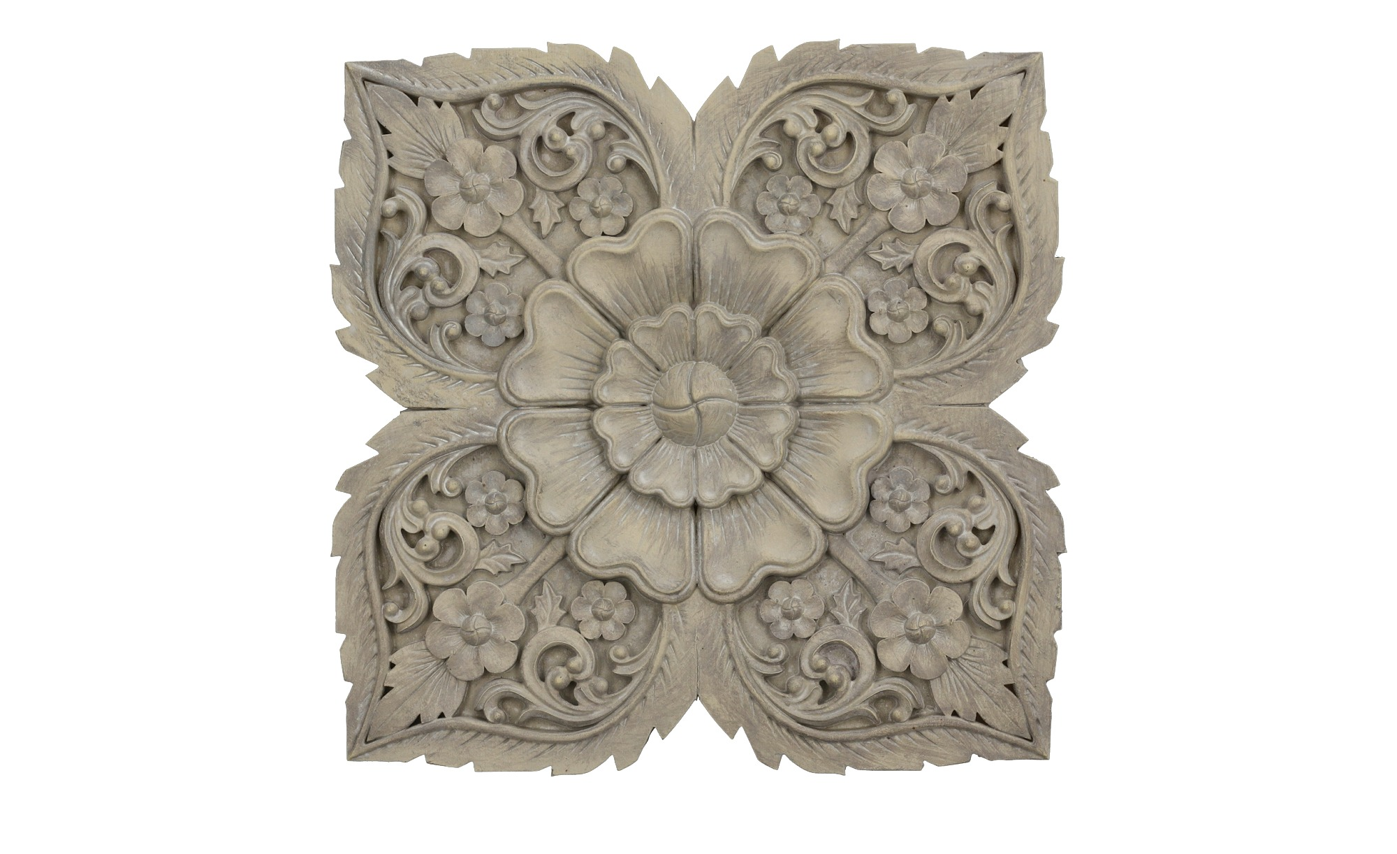 Wanddekoration ¦ grau ¦ Polyresin (Kunstharz) Dekoration > Dekoartikel - Hö günstig online kaufen