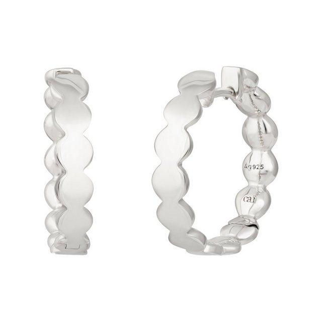 CAÏ Klappcreolen »925 Silber rhodiniert Boho«, Glänzend günstig online kaufen