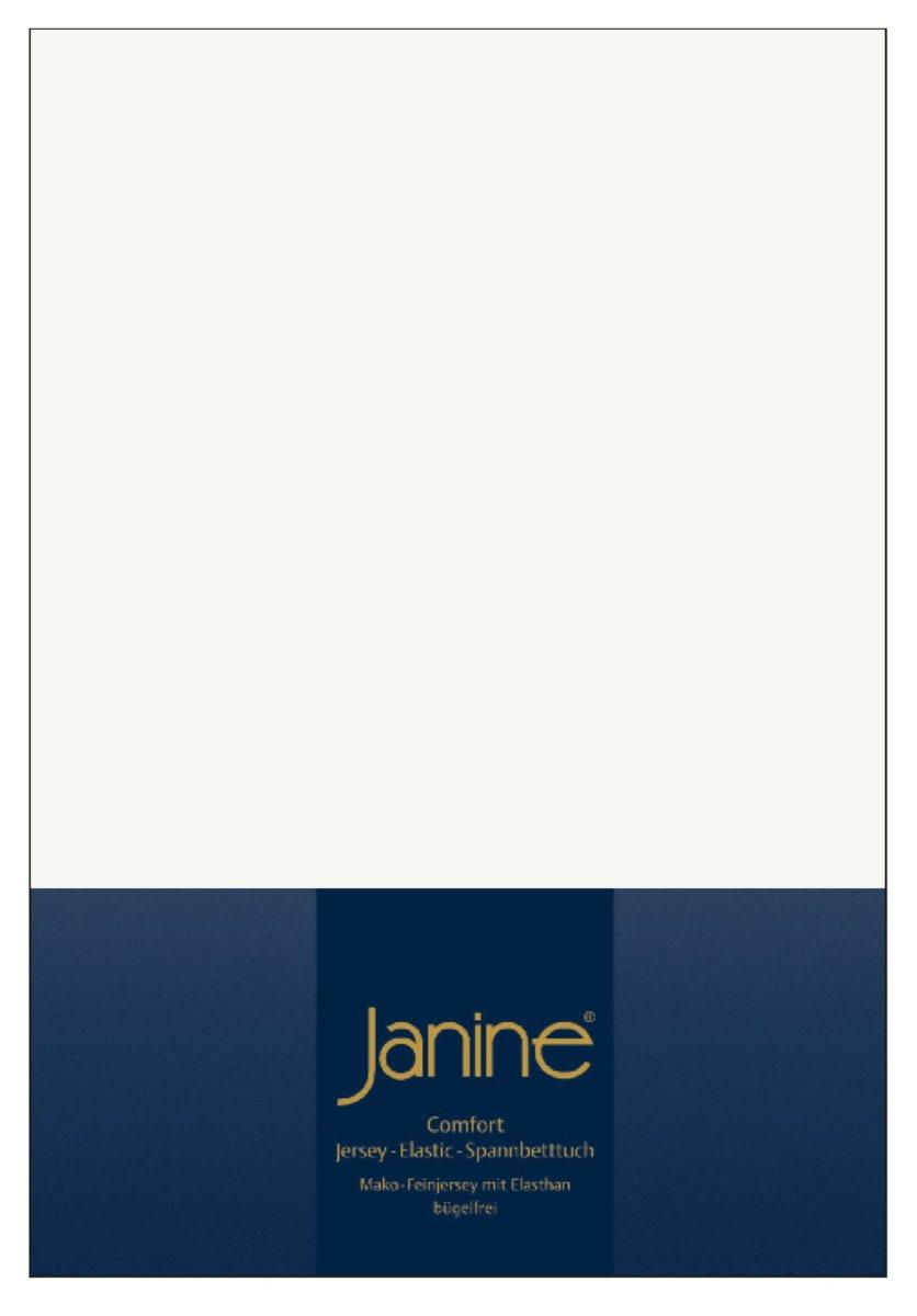 Janine Spannbetttuch Comfort - Elastic-Jersey, Mako-Feinjersey, Bettlaken E günstig online kaufen