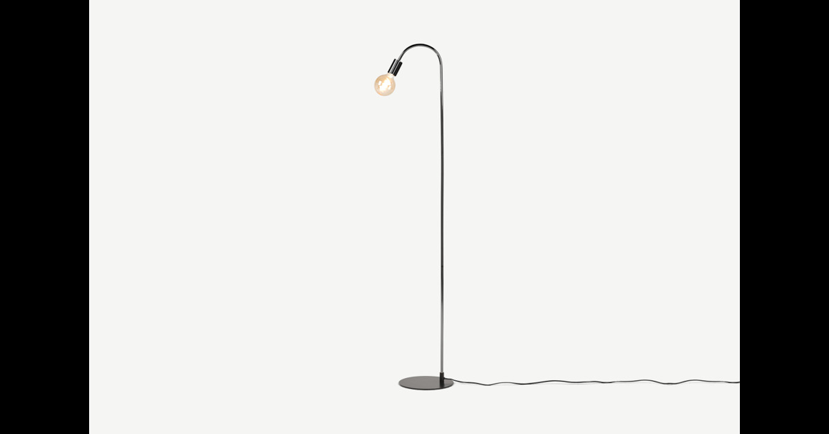 Octavia Stehlampe, Schwarz - MADE.com günstig online kaufen
