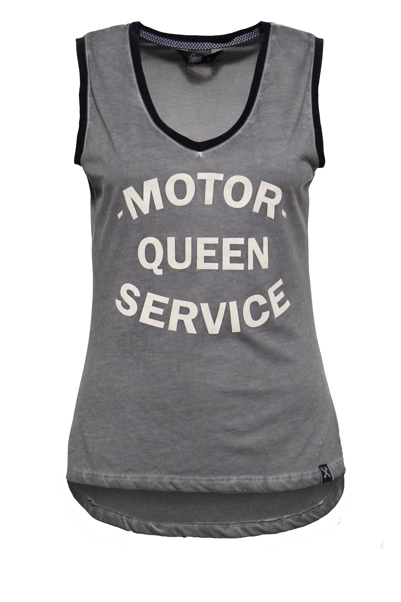 QueenKerosin Tanktop Motor Queen, mit legerem Oilwash günstig online kaufen