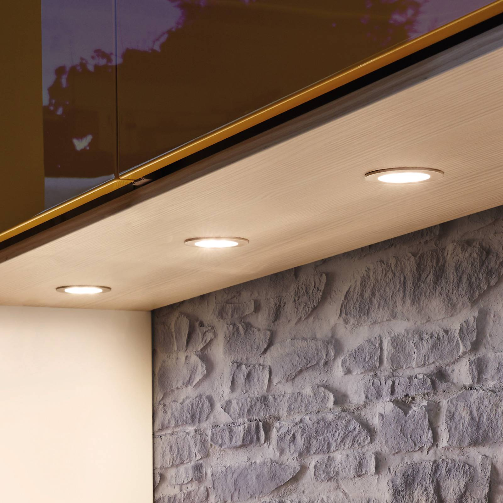 LED-Möbeleinbauleuchte Dynamic FR 55 3er-Set günstig online kaufen