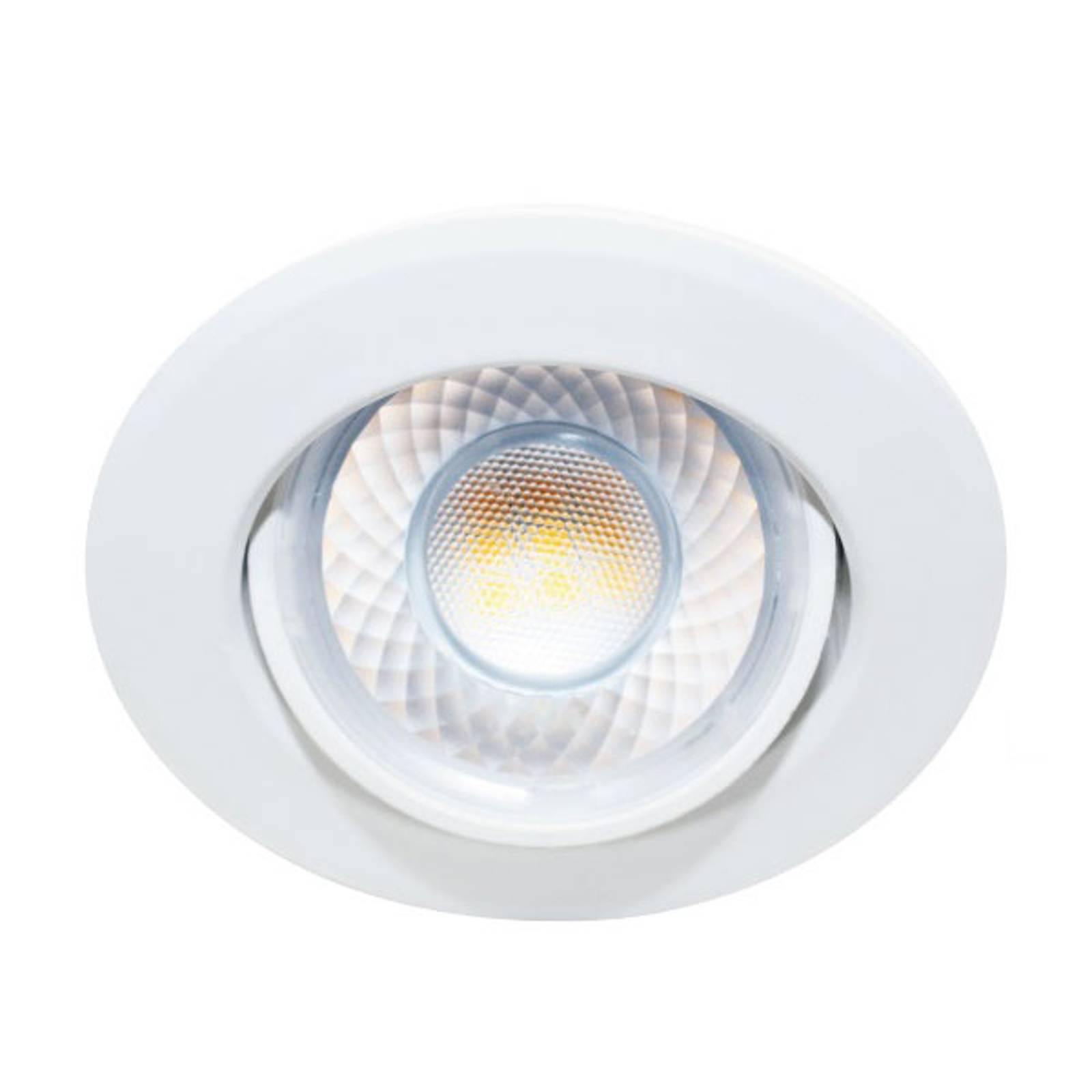 LED-Einbaustrahler Dekto 7,8cm 38° 8W Ra90 5.000K günstig online kaufen