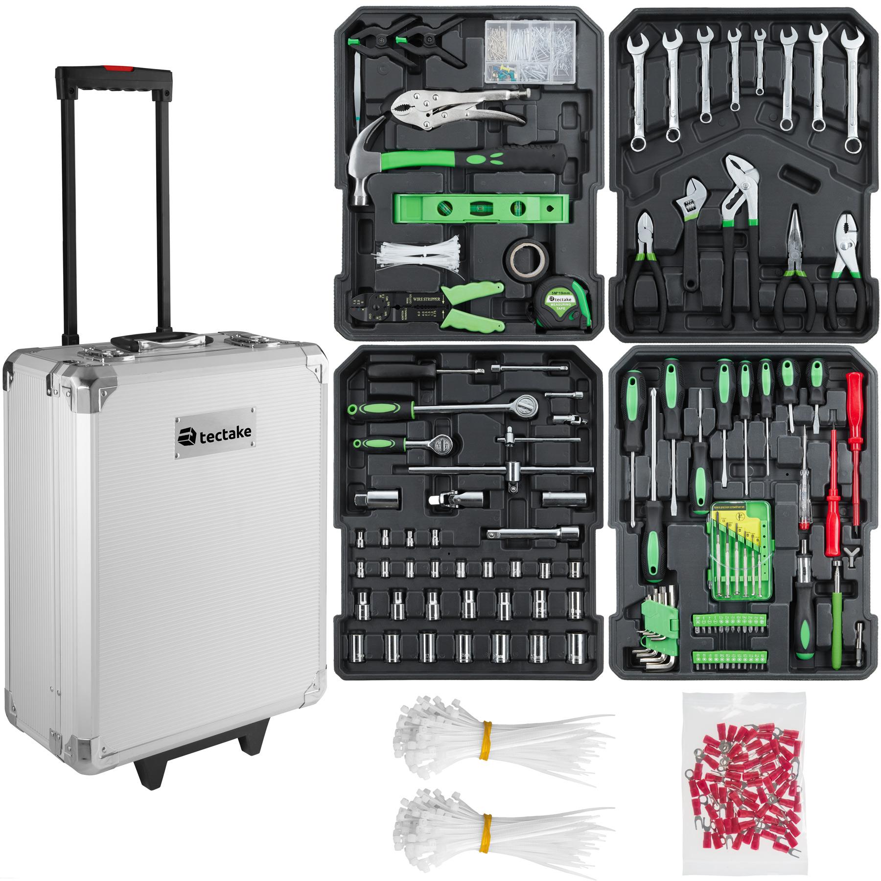 Trolley Werkzeugkoffer 899-tlg. - silber günstig online kaufen
