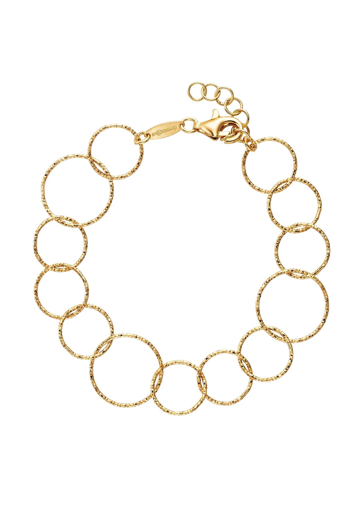 Der Kettenmacher Armband RING DESIGN, RK-19G, RK-19S günstig online kaufen