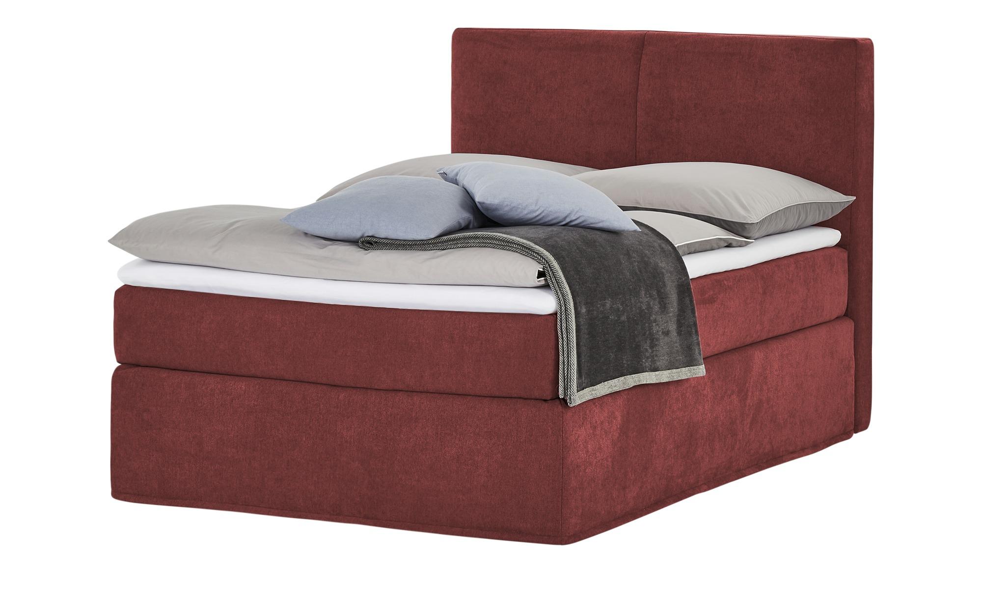 Boxi Boxspringbett 140 x 200 cm  Boxi Classic ¦ rot Betten > Boxspringbette günstig online kaufen