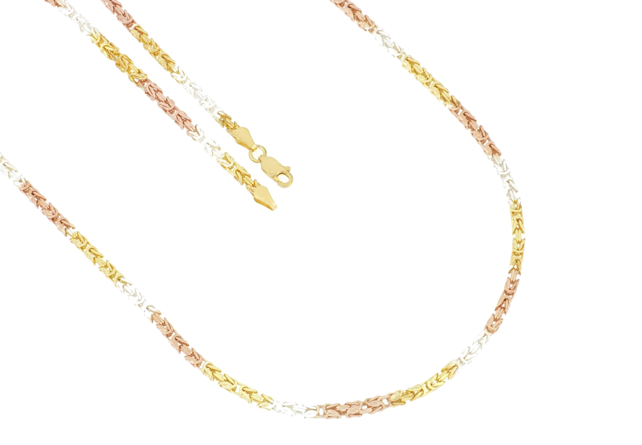La Piora Armband Königsarmband, glanz, quadratisch, 925/- Sterlingsilber tr günstig online kaufen