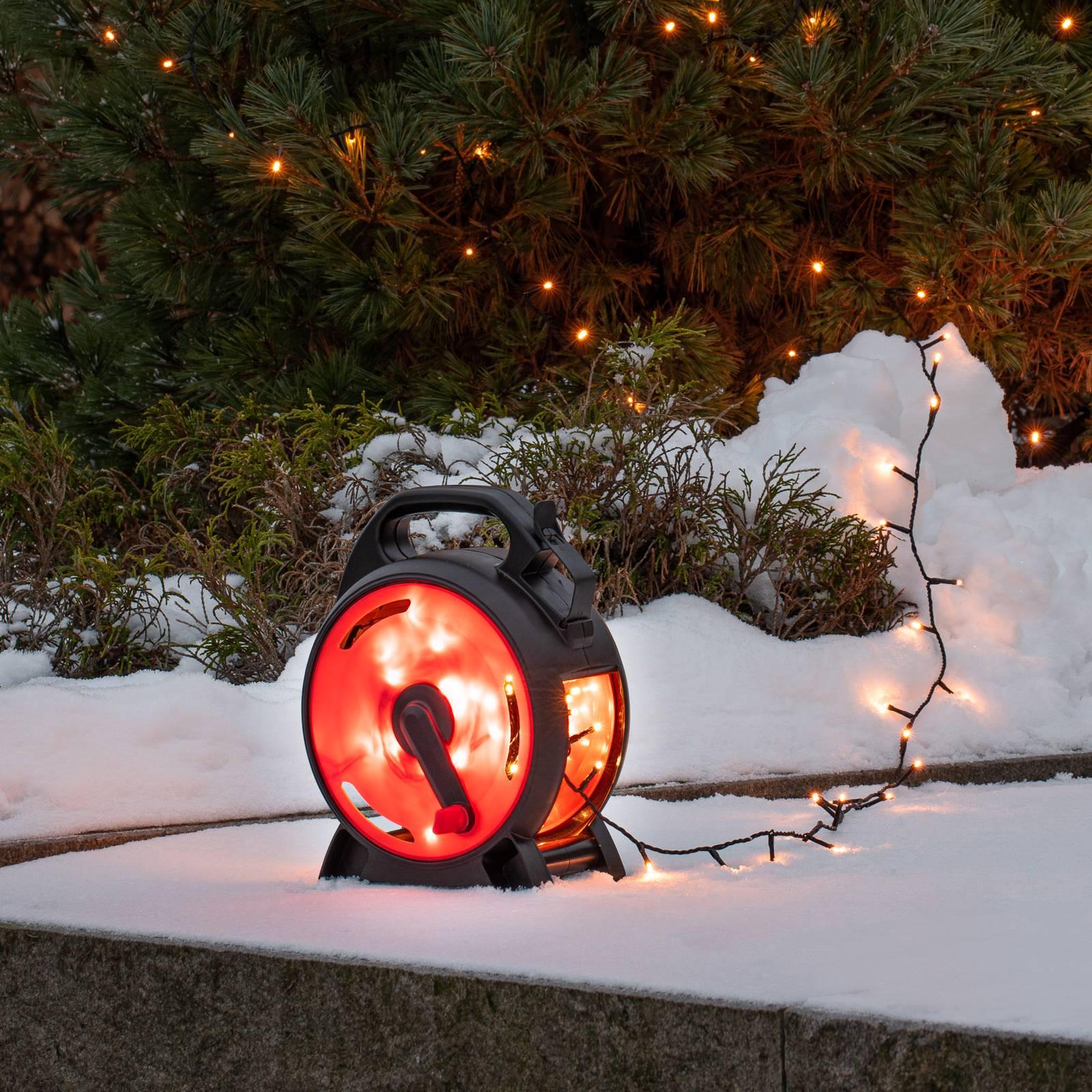 LED-Lichterkette Micro bernstein 200flammig 13,93m günstig online kaufen