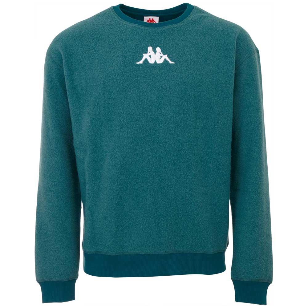 Kappa Sweatshirt AUTHENTIC FIONN, in aussen angerauter Sweatqualität günstig online kaufen