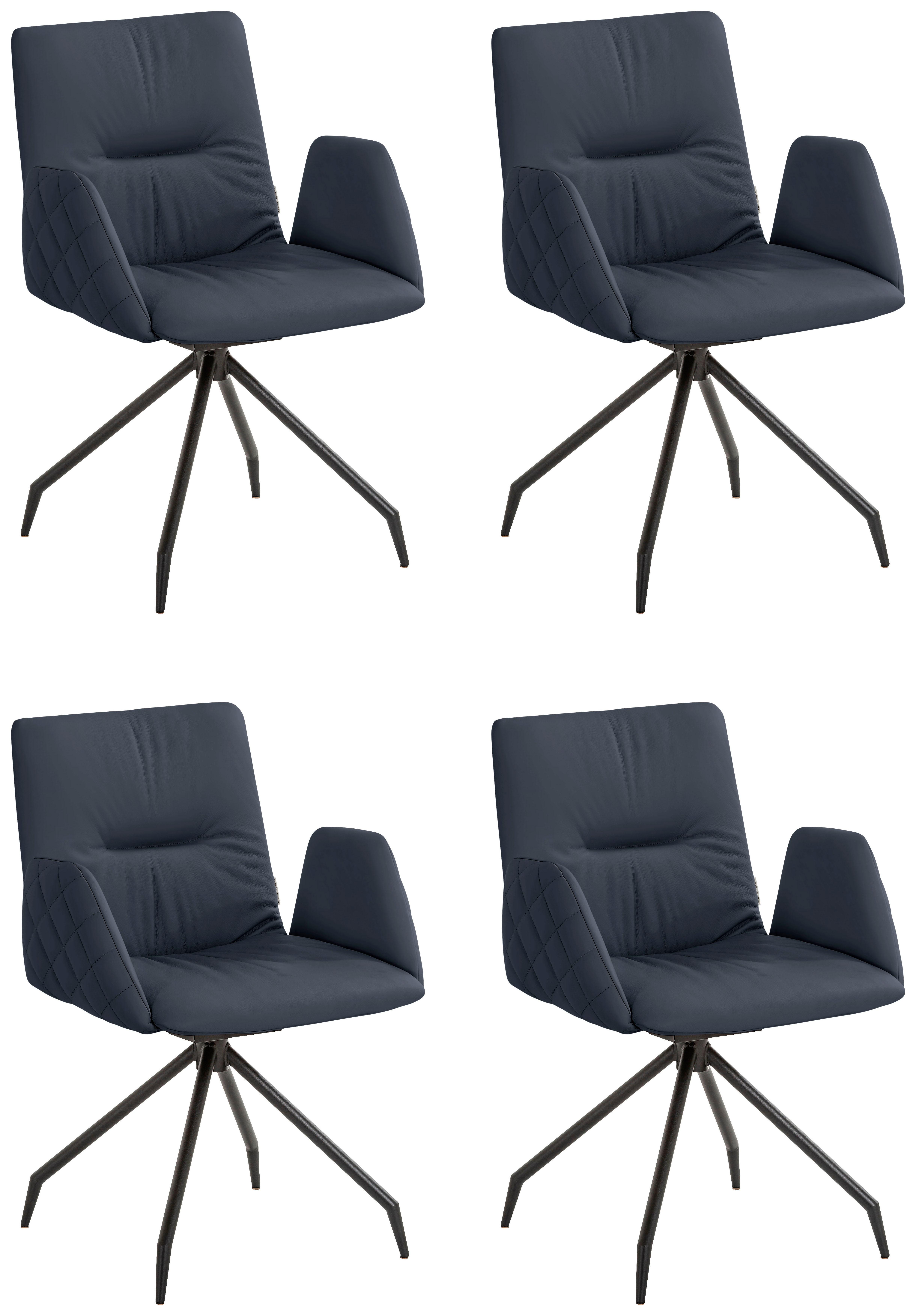 W.SCHILLIG Armlehnstuhl lotta, 2er- oder 4er-Set, mit Rücken- & Seitenteils günstig online kaufen