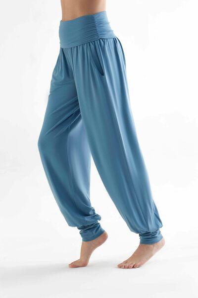 Damen Yogahose In 4 Farben Aus Lyocell Hose Mit Taschen Pants T1320 günstig online kaufen
