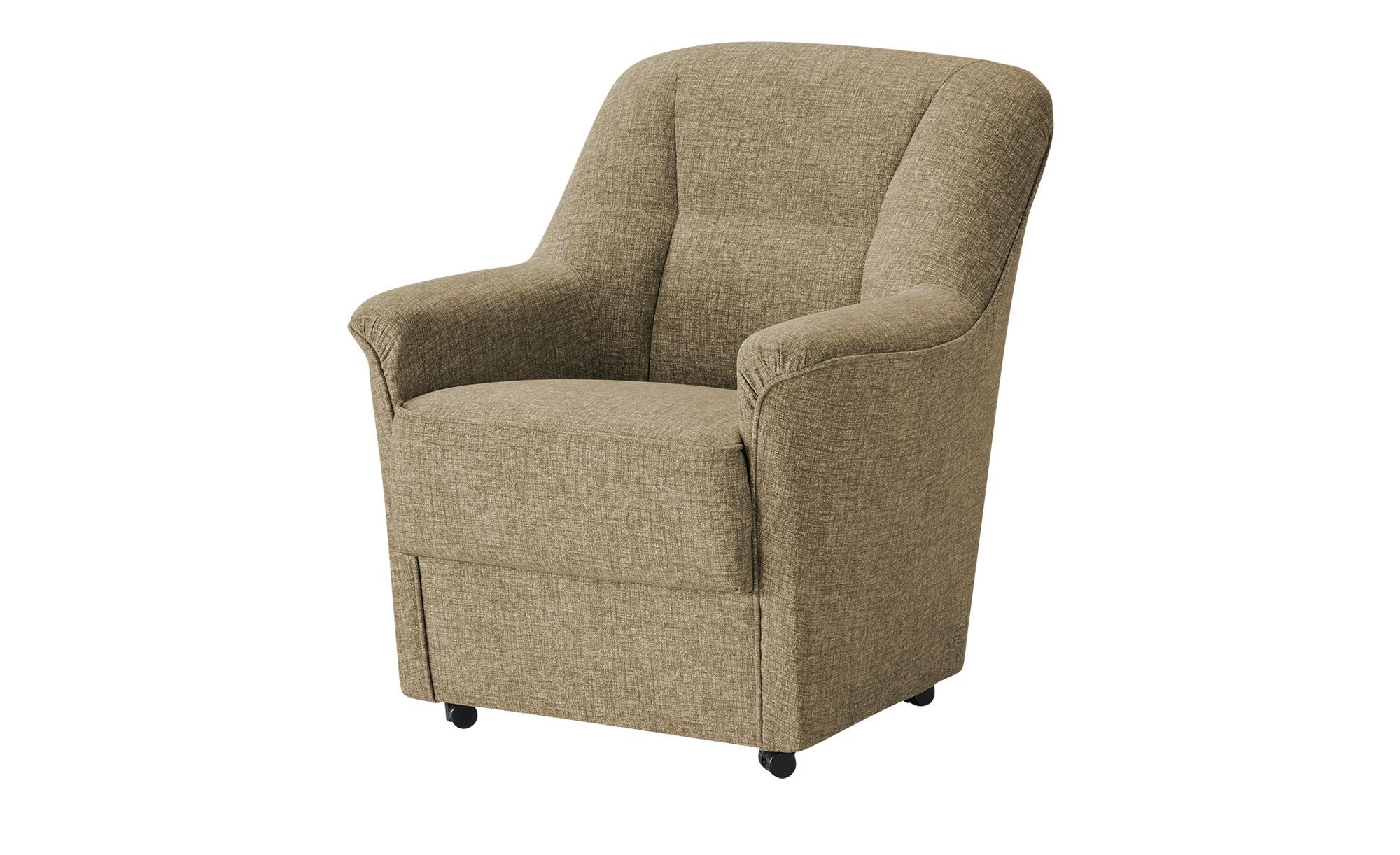 Sessel  Werra ¦ beige Polstermöbel > Sessel > Polstersessel - Höffner günstig online kaufen