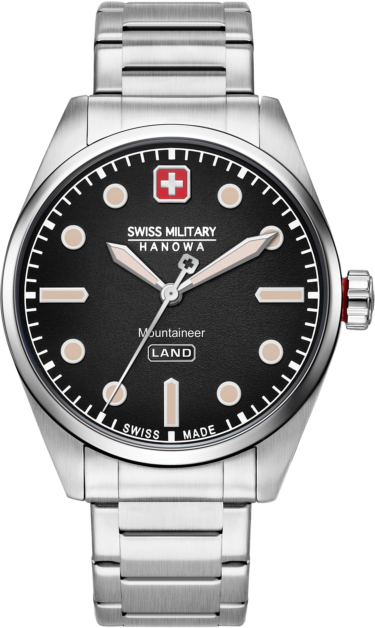 Swiss Military Hanowa Schweizer Uhr MOUNTAINEER, 06-5345.7.04.007 günstig online kaufen