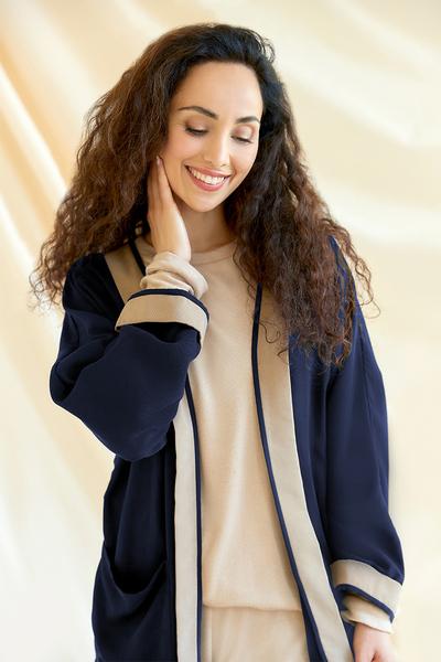 Damen Kimono Jacke Angela Aus Tencel günstig online kaufen