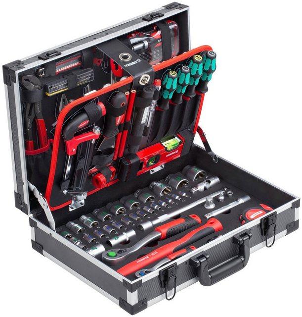 meister Werkzeugset »Koffer«, (131-St), mit Qualitätswerkzeug von Knipex & günstig online kaufen