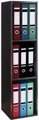 VCM Aktenregal Bücherregal Büroregal Ordnerregal Holz Regal Offas 3fach gra günstig online kaufen