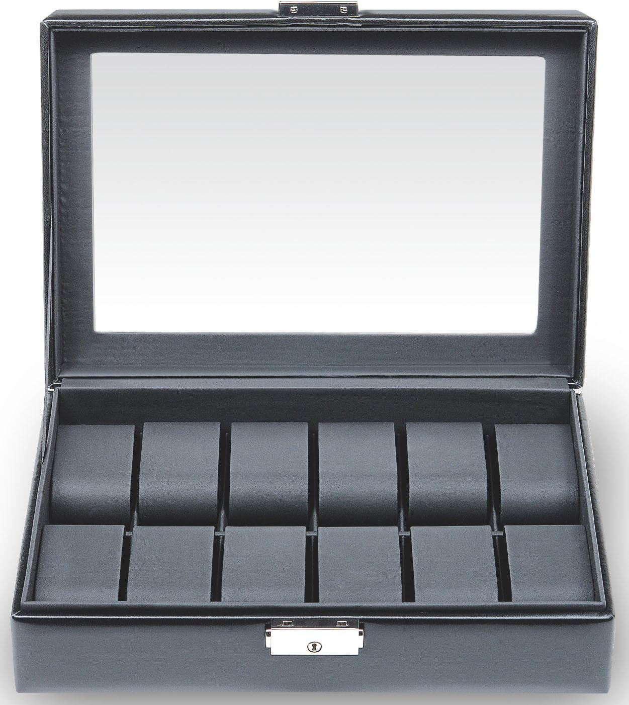 Sacher Uhrenetui Black Exclusive, 2119.0104N04, Handmade in Germany günstig online kaufen
