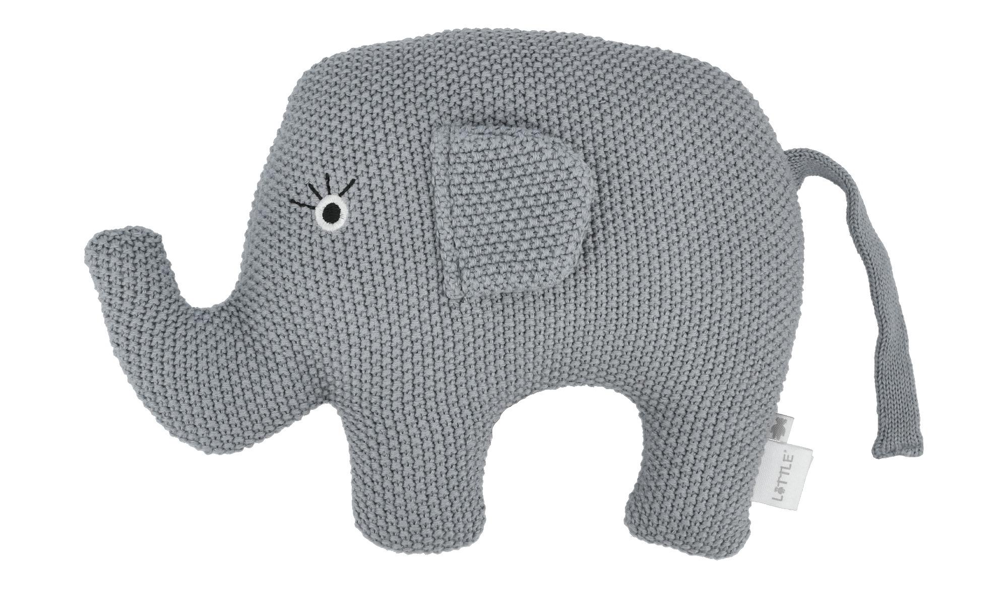 Kuscheltier  Little Elefant ¦ blau ¦ Füllung aus 100% Polyester, Bezug aus günstig online kaufen