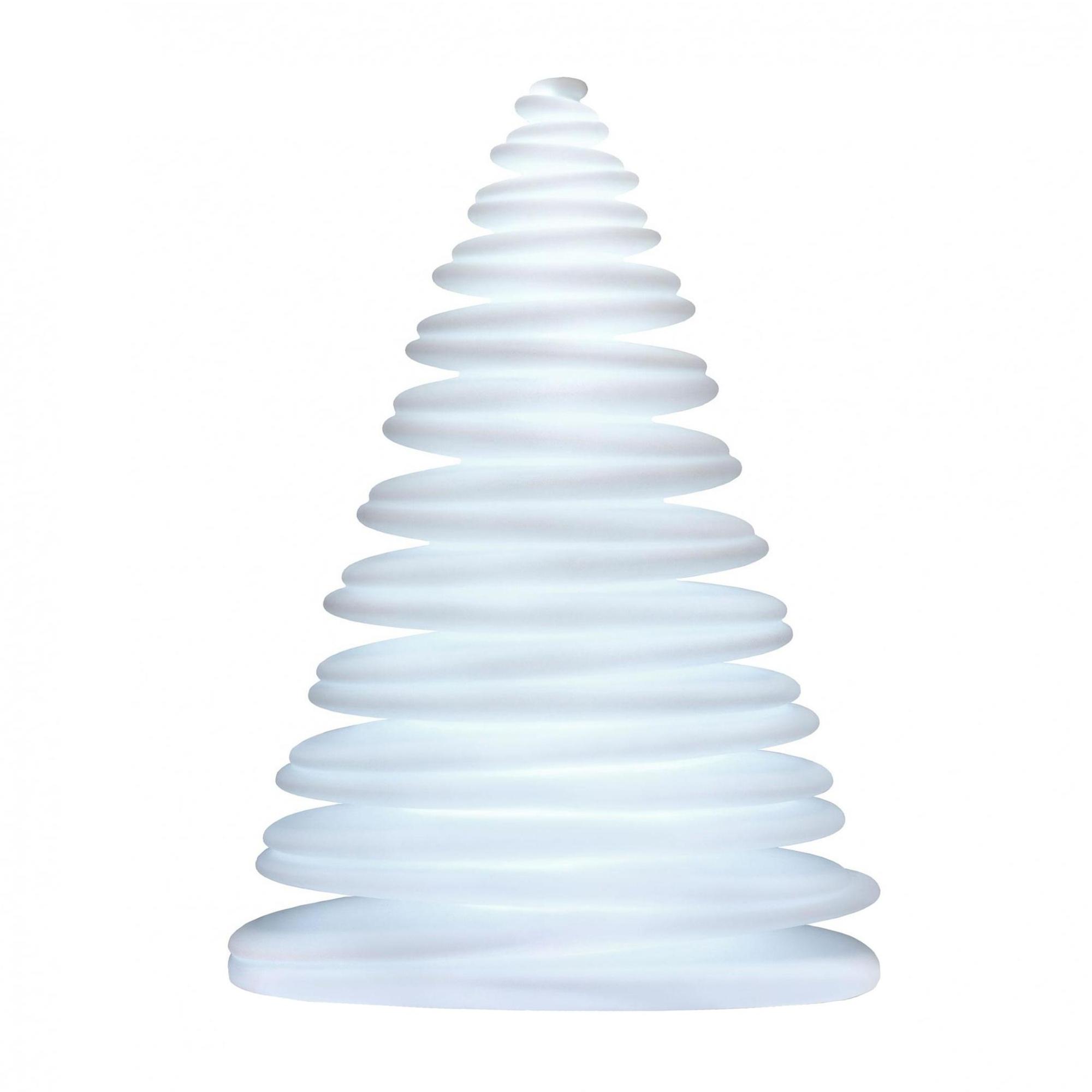 Vondom - Nano Chrismy Weihnachtsbaum-Tischleuchte - weiß/matt/LxBxH 19x13x2 günstig online kaufen