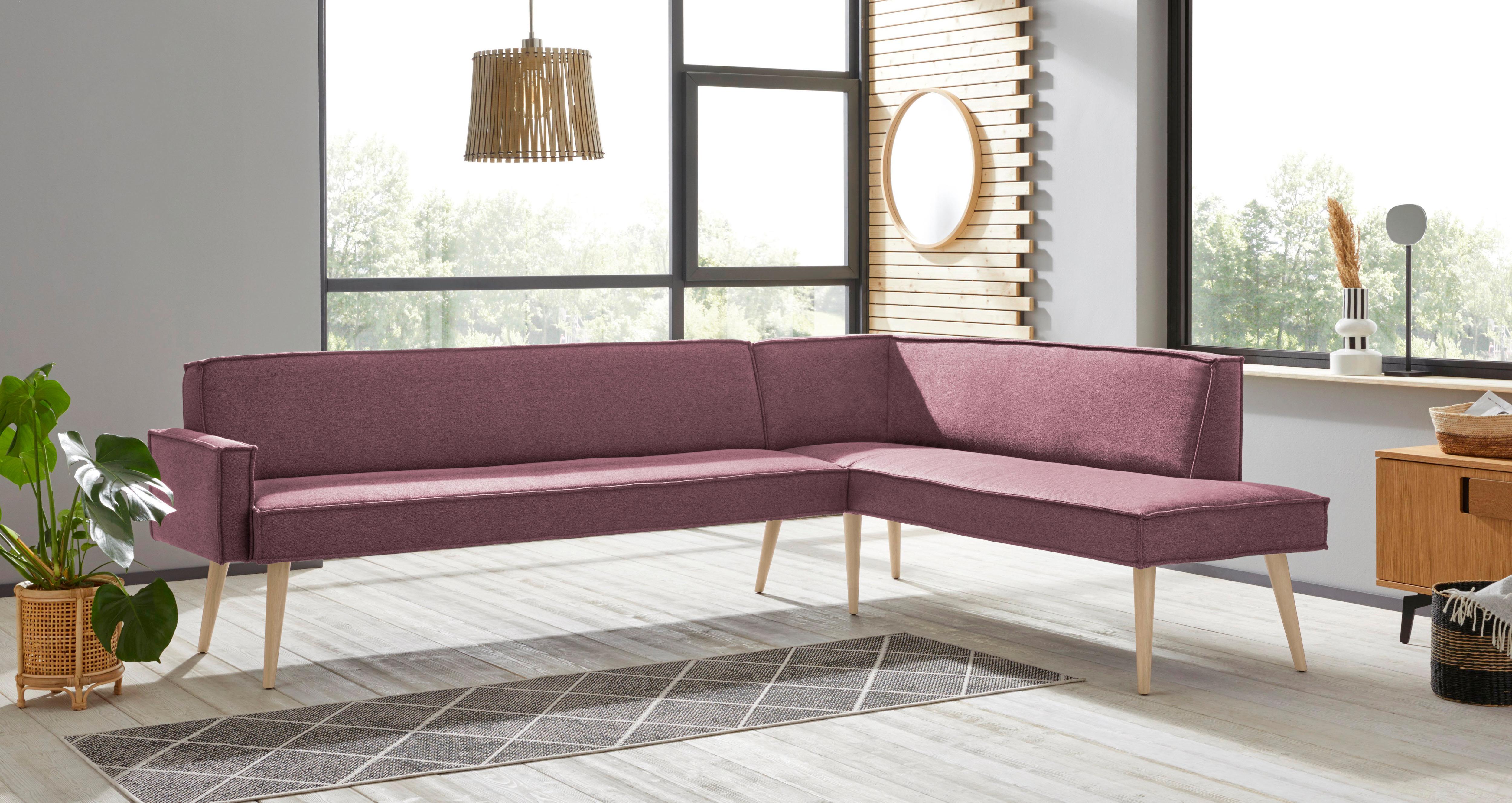 exxpo - sofa fashion Eckbank Lungo, Frei im Raum stellbar günstig online kaufen