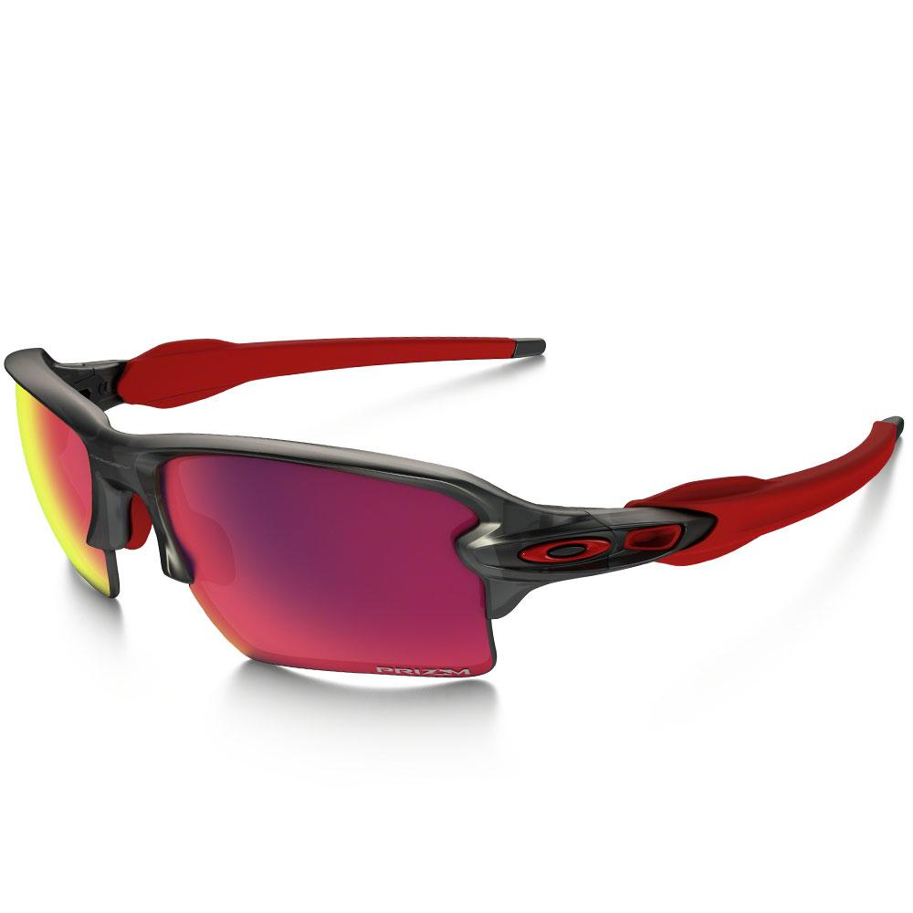 Oakley Flak 2 XL Sonnenbrille Matte Grey Smoke/Prizm Road günstig online kaufen