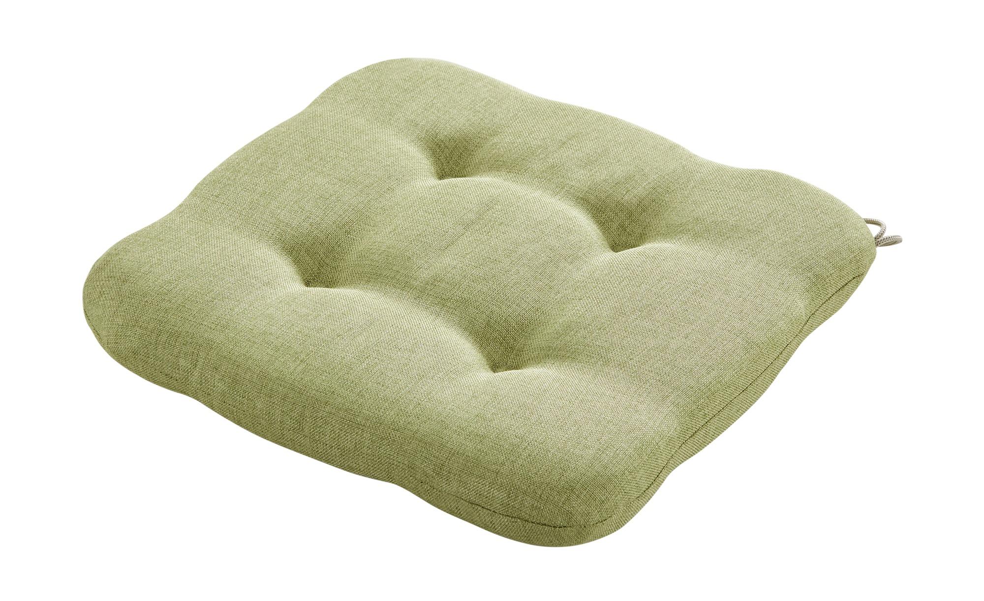 Sitzkissen  Burner - grün - 100% Polyester - Sconto günstig online kaufen