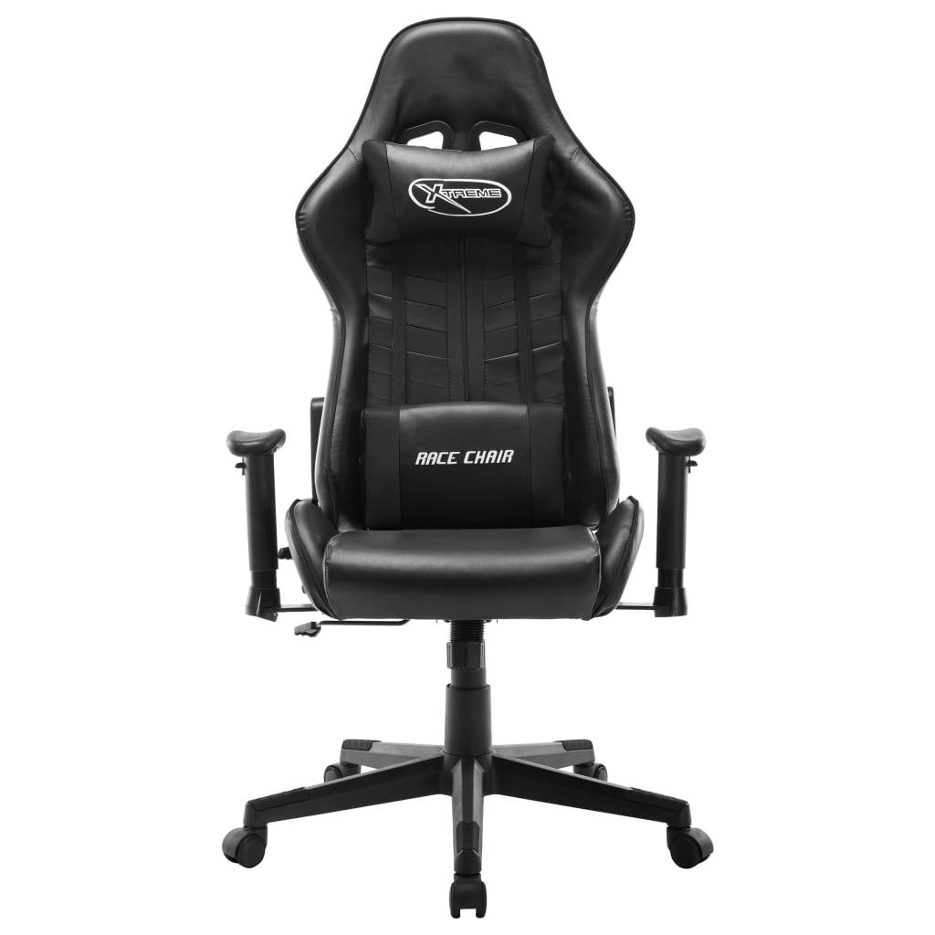 Gaming-stuhl Weiß Und Schwarz Kunstleder günstig online kaufen