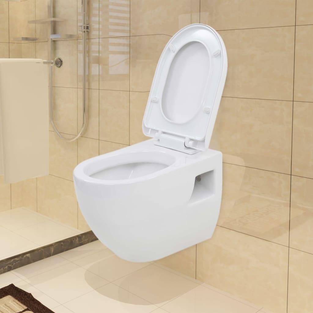 Wand-wc Keramik Weiß günstig online kaufen