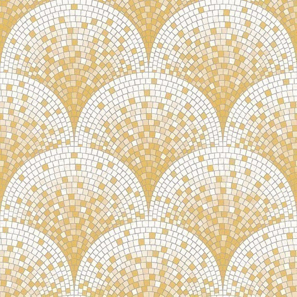 DesignID Vliestapete Edles Design BA220042 Gelb Steintapete günstig online kaufen