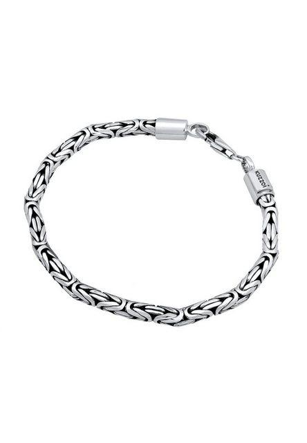 Kuzzoi Armband »Herren Königskette Robust 925 Silber« günstig online kaufen