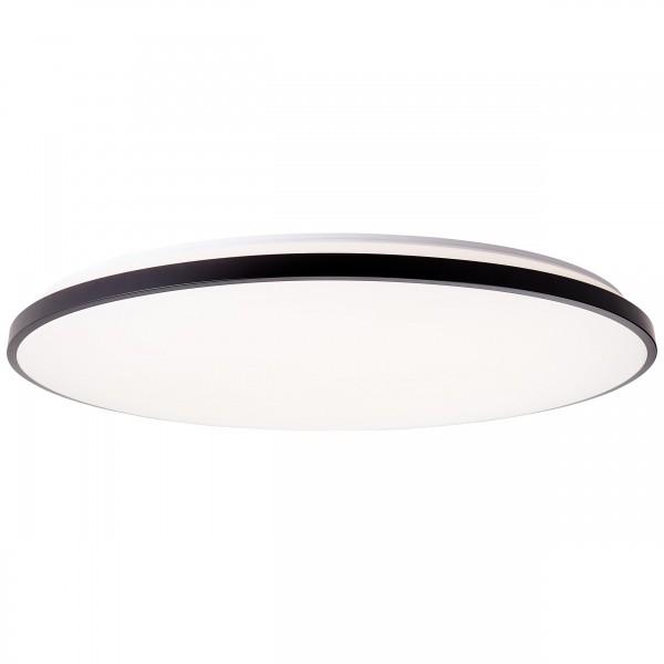 BRILLIANT JAMIL LED Deckenleuchte Ø 78 cm Metall / Kunststoff Weiß / schwar günstig online kaufen