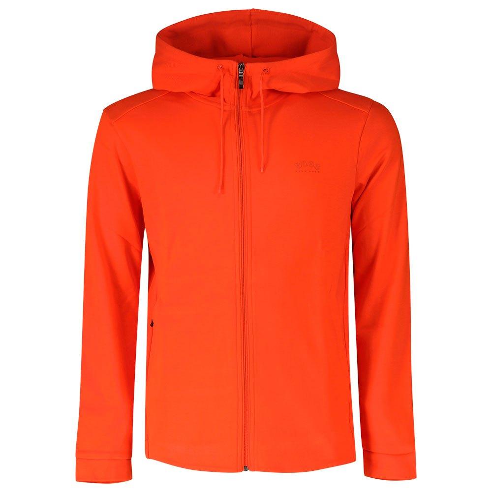 Boss Saggy Sweatshirt Mit Reißverschluss L Bright Orange günstig online kaufen