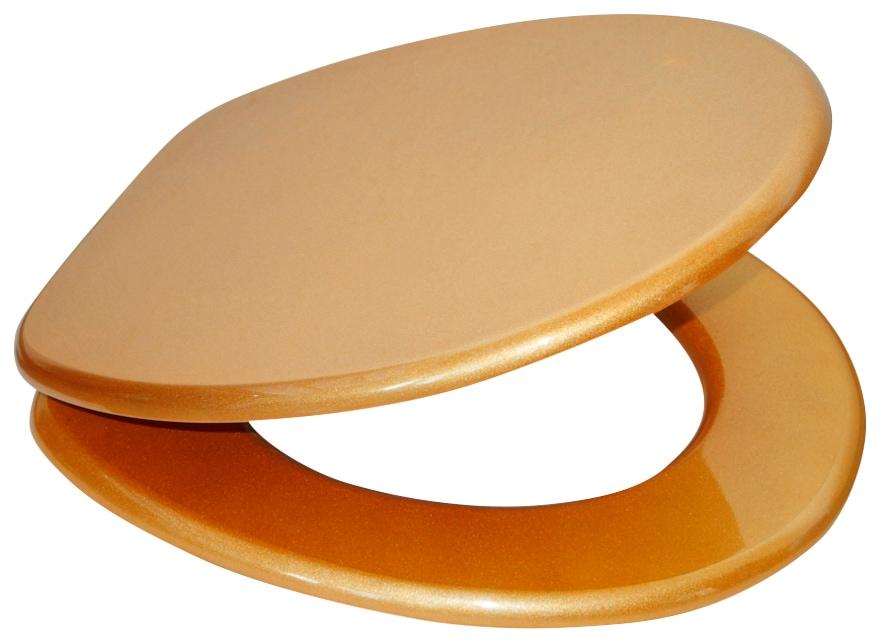 SANILO WC-Sitz »Glitzer WC-Sitz«, mit Absenkautomatik günstig online kaufen