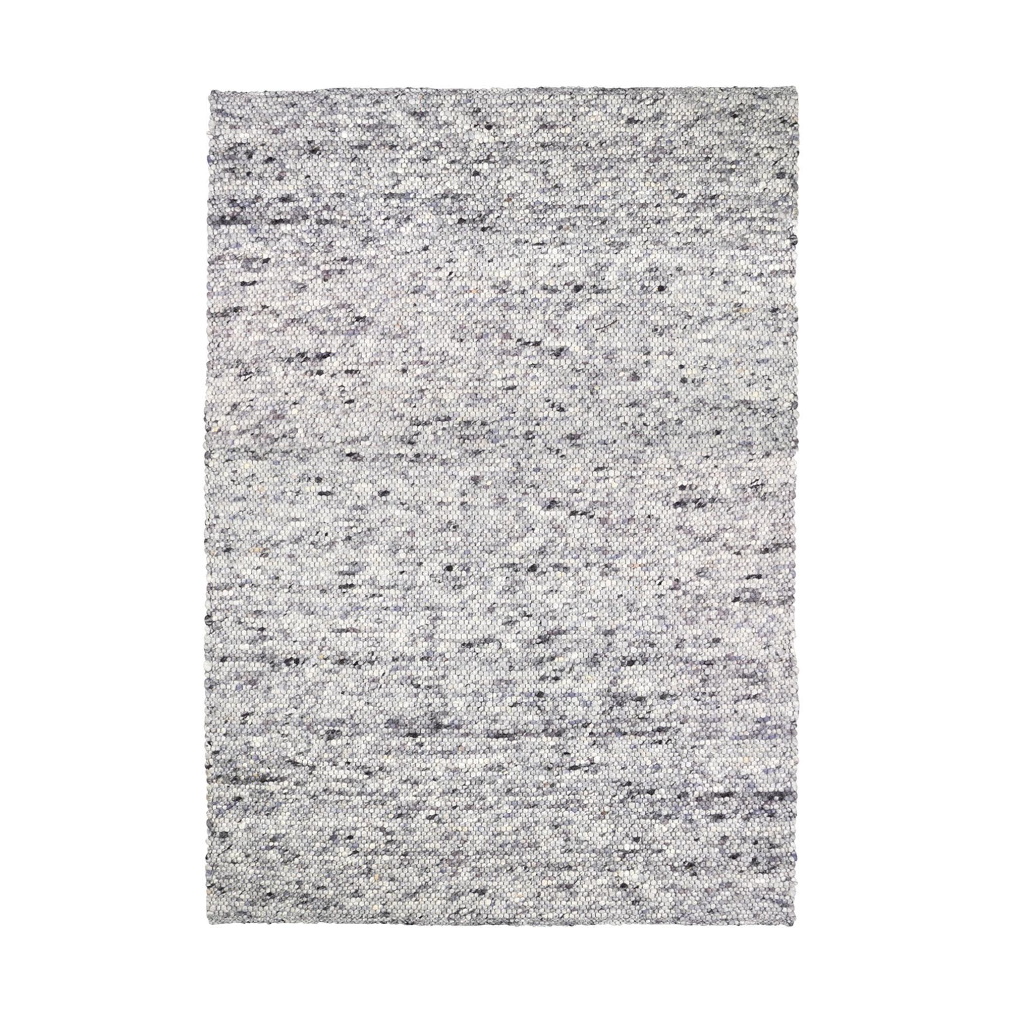 Collection - Pebble Filzkugelteppich 170x240cm - grau meliert/BxHxT 240x1x1 günstig online kaufen