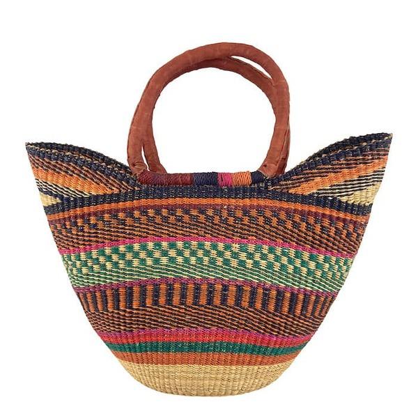 Bolga Bag - Handtasche - Korbtasche - Strandtasche - 40x48cm günstig online kaufen