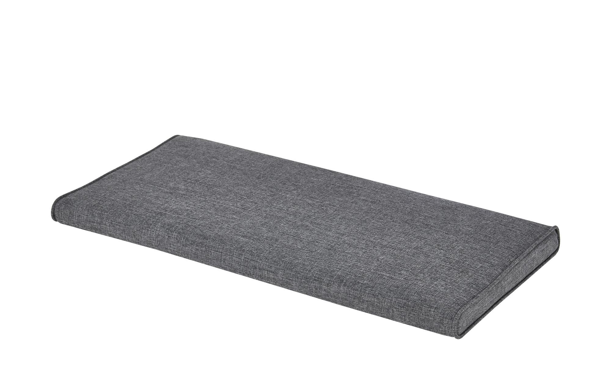 Sitzkissen ¦ schwarz ¦ Bezug: Nubukoptik (100% Polyester), Füllmaterial: PU günstig online kaufen