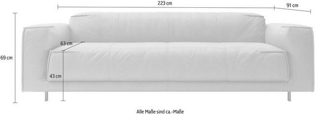 freistil ROLF BENZ 3-Sitzer »freisitl 136«, mit besonderer Nahtverarbeitung günstig online kaufen