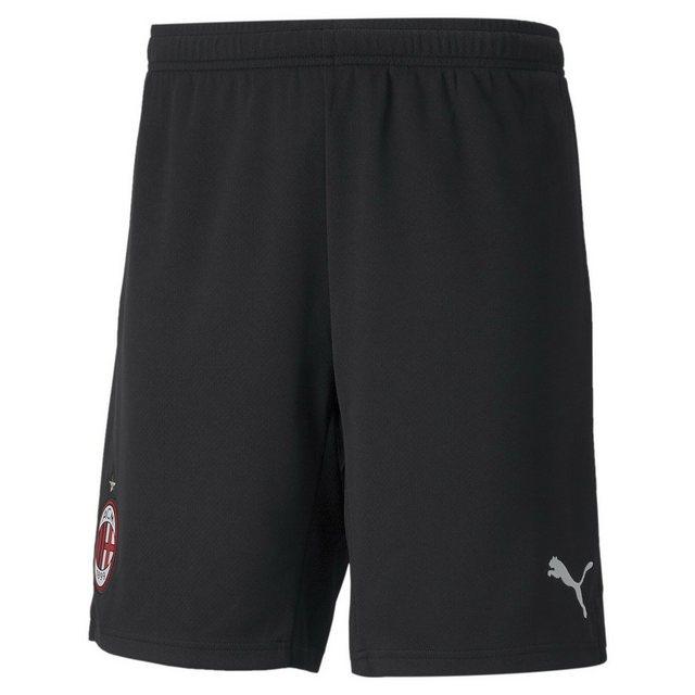 PUMA ACM Home Replica Herren Fußball Shorts 21/22   Mit Aucun   Schwarz/Wei günstig online kaufen