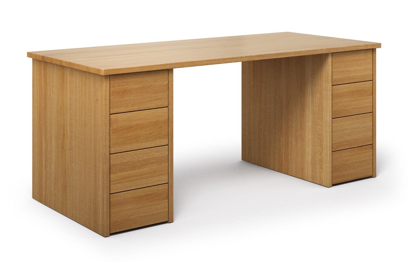 Schreibtisch Scriba aus Eiche günstig online kaufen
