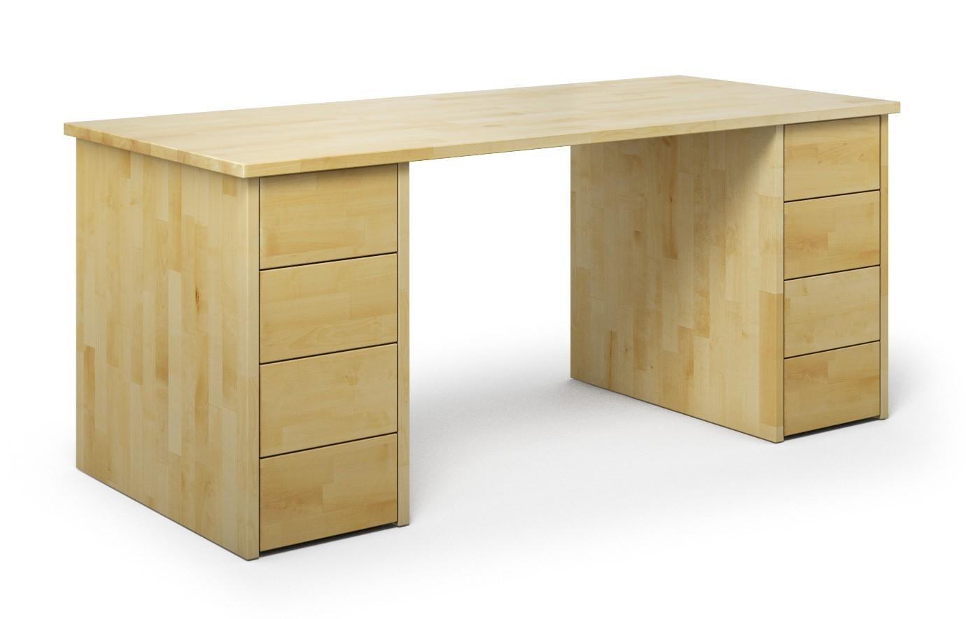 Schreibtisch Nagano aus Birke günstig online kaufen