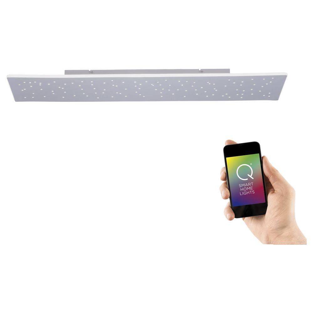 Q-Smart LED Wand- und Deckenleuchte Q-Nemo RGBW inkl. Fernbedienung günstig online kaufen